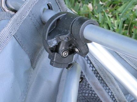 Broken lug under chair