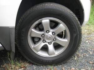 Cooper Tires ATR fitted to my Toyota Prado