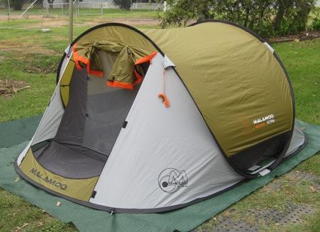 Malamoo 3-second X-tra tent at Narrabri Highway Tourist Villiage and Caravan Park & Malamoo 3-second X-tra tent | Blokeu0027s Post