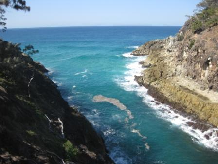 North Gorge on Stradbroke Island