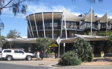 Shops servicing visitors to the North Gorge walk