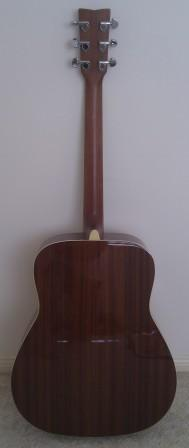 Back of my Yamaha FG720S acoustic guitar