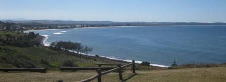 Views of Seven Mile Beach and Lennox Head township